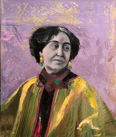 Markus Boesch - Portrait of a woman I do not know 55 cm x 65 cm Oil on Canvas www.markusboesch.net