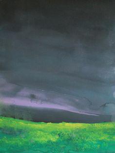 """Saatchi Online Artist: Koen Lybaert; Watercolor, 2013, Painting """"Byske III"""""""