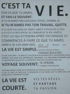 C'est ta vie     FRANÇAIS !!!