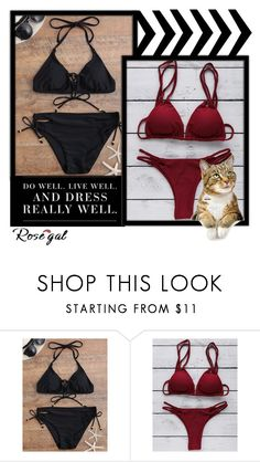 """""""Rosegal"""" by tifany-ifany ❤ liked on Polyvore"""