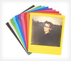 Nigo: Limited Edition Instant Film with Colorful Frames