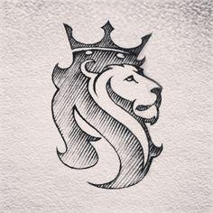 Tattoo Lion Design Logo Inspiration 49 Ideas For 2019 Logo Lion, Animal Drawings, Art Drawings, Lion Design, Desenho Tattoo, Lion Art, Great Logos, Lion Tattoo, Logo Concept