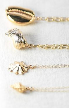 Nui necklace - gold shell necklace, hawaiian turban shell necklace, hawaii necklace, bridesmaid beach wedding, beach jewelry, maui, hawaii kealohajewelry https://www.etsy.com/listing/178332419