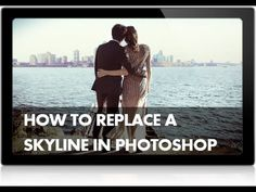 How to Replace a Skyline in Photoshop. Aligning colours in two images