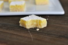 Perfect Lemon Bars (lemon zest, lemon juice)
