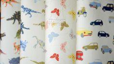 Tecidos para decoração - Tecidos estampados 100% algodão para o quarto do seu bebê