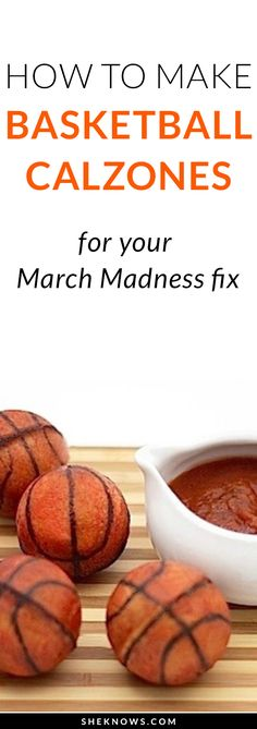 Whether you're a pizza lover or basketball fan, these snacks are a slam dunk. #marchmaddness