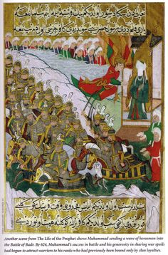 muhammad and his army marched against the meccans