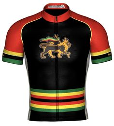 Africa Collection Rasta Lion, Rasta Colors, Bike Wear, New Africa, Cycling Jerseys, Cycling Outfit, Apparel Design, Jersey Shorts, Training