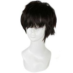 $9.79 (Buy here: https://alitems.com/g/1e8d114494ebda23ff8b16525dc3e8/?i=5&ulp=https%3A%2F%2Fwww.aliexpress.com%2Fitem%2FFree-shipping-25cm-short-black-Hoozuki-no-Reitetsu-Fashion-Man-wig-FS08A%2F1733766393.html ) Free Shipping 25cm Fashion Straight Synthetic Hair Men Short Black Wig for just $9.79