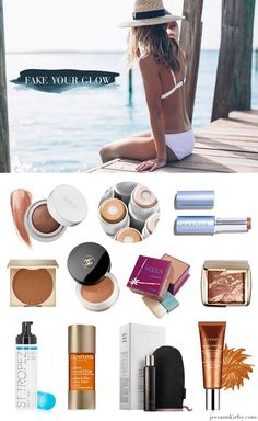 As summer rolls around and we start breaking out the bikinis, sun dresses and cutoffs, we are all about skipping harmful rays and using products that give a sun-kissed glow.