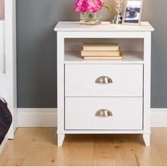 Discover the best coastal bedroom furniture sets for a beach home. Browse beach bedroom furniture sets like beds, headboards, dressers, and nightstands. Tall Nightstands, White Nightstand, 2 Drawer Nightstand, Cheap Nightstand, Home Bedroom, Bedroom Furniture, Home Furniture, Bedroom Decor, Coastal Furniture