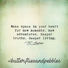 """495 Likes, 7 Comments - S.C Lourie (@butterfliesandpebbles) on Instagram: """"Decluttering is an act of faith. An act of faith in yourself, your future self, your life coming,…"""""""