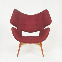 Grant Featherston; 'Curl-Up' Chair for Emerson Brothers, 1950s.