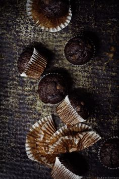 Double Chocolate Chip Muffins via Bakers Royale