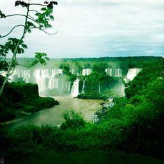 Iguassu Waterfalls, Brazil