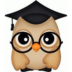 Silhouette Design Store - View Design #59120: graduation owl pnc