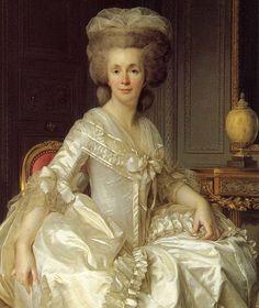 1790 Portrait of Suzanne Curchod (Madame Jacques Necker)