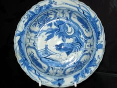 <p>Wanli period 1573 – 1619. A Chinese porcelain blue and white kraak…