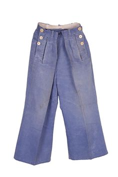 1930's french Marine Nationale deck pants