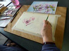 Compte-rendu du stage d'aquarelle d'Avril