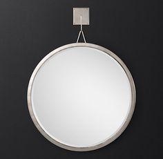 Pendant Round Mirror