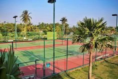 Many Facilities at Baan Dusit Villa Projects, Like this tennis court - 24/7 open.