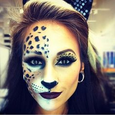 Halloween makeup - think this may be this halloween's outfit idea!