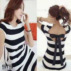 Exquisite Ribbon Back Striped Dress for only P419 at ShopThisEasy.com, please click here: http://www.shopthiseasy.com/shops/exquisite-ribbon-back-striped-dress-a022d.html