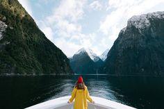 Milford Sound New Zealand.