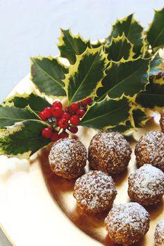 Gingerbread Bourbon Balls