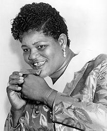 "big mama thornton. ""Hound Dog"" is a twelve-bar blues written by Jerry Leiber and Mike Stoller and originally recorded by Willie Mae ""Big Mama"" Thornton in 1952. Other early versions illustrate the differences among blues, country, and rock and roll in the mid-1950s. The 1956 remake by Elvis Presley is the best-known version; it is his version that is No. 19 on Rolling Stone's list of The 500 Greatest Songs of All Time."