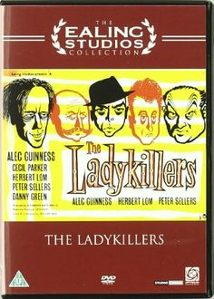 The Ladykillers [DVD]: Amazon.co.uk: Alec Guinness, Cecil Parker, Herbert Lom, Peter Sellers, Danny Green, Katie Johnson, Jack Warner, Frankie Howerd, Fred Griffiths, Philip Stainton, Otto Heller, Tristram Cary: DVD Blu-ray
