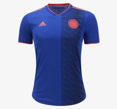 16641c5d349 adidas Colombia Authentic Away Jersey 2018 Adidas Colombia, World Cup  Jerseys, Soccer, Hs