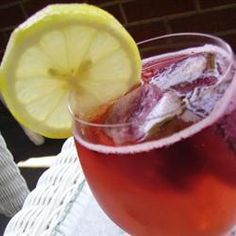"Homemade Wine Coolers | ""This turned out very good in a nice chilled glass garnished with a lime. Great idea!"""