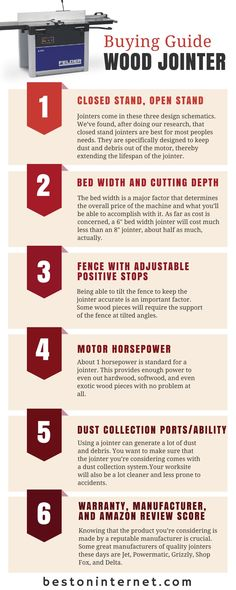 Tips for buying Wood #Jointer http://www.bestoninternet.com/tools-home-improvement/power-tools/benchtop-jointer/