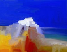 WHITE  ISLAND  5 - Alexis Digart Abstract Landscape, Landscape Paintings, Landscapes, Diploma In Architecture, Pastel Portraits, Moving To Paris, Virtual Art, Thomas Kinkade, Digital Technology