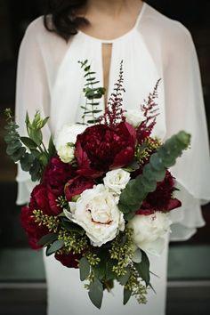 Pantone's 2015 Color: 100 Marsala Wedding Ideas | HappyWedd.com