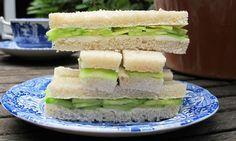 Perfect cucumber sandwiches