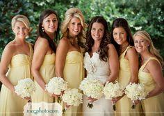 Pastel lemon colour wedding palette  ... Wedding ideas for brides, grooms, parents & planners ... https://itunes.apple.com/us/app/the-gold-wedding-planner/id498112599?ls=1=8 ... plus how to organise your entire wedding ... The Gold Wedding Planner iPhone App ♥