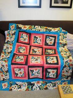Day of the Dead Sugar Skulls Quilt Pattern CLS-112 | Quilted ... : day of the dead quilt pattern - Adamdwight.com