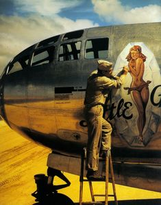 Aviation Pin Ups: Photo