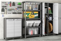 Declutter your garage Home Storage Solutions, Storage Ideas, Garage, Declutter Your Life, Organization Hacks, Beautiful Homes, Diy Projects, House Design, Inspiration