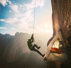 Huge congrats to these guys for completing their free climb of the Dawn Wall in Yosemite. What an achievement.