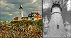 Portland Headlight ~ Maine Lighthouse Senior Portraits, Family Portraits, Maine Lighthouses, Light Of Life, Banff, Cn Tower, Portland, Natural Beauty, Photoshoot