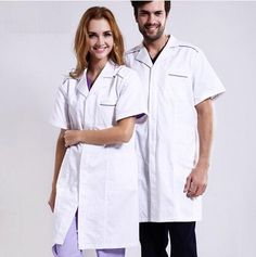 New Men Medical Scrub Sets Hospital Doctor Uniforms Dental Clinic ...