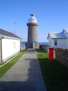 Queenscliff black lighthouse Victoria, Australia