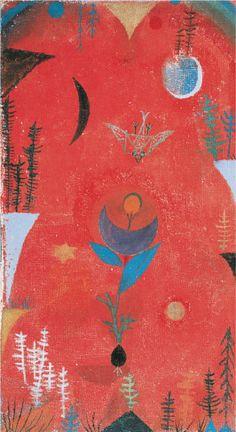 Flower Myth by Paul Klee