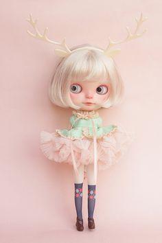 Blythe Fuffy Dress by kuloft on Etsy, $20.00