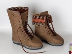 """Boots for women """"Velours"""""""